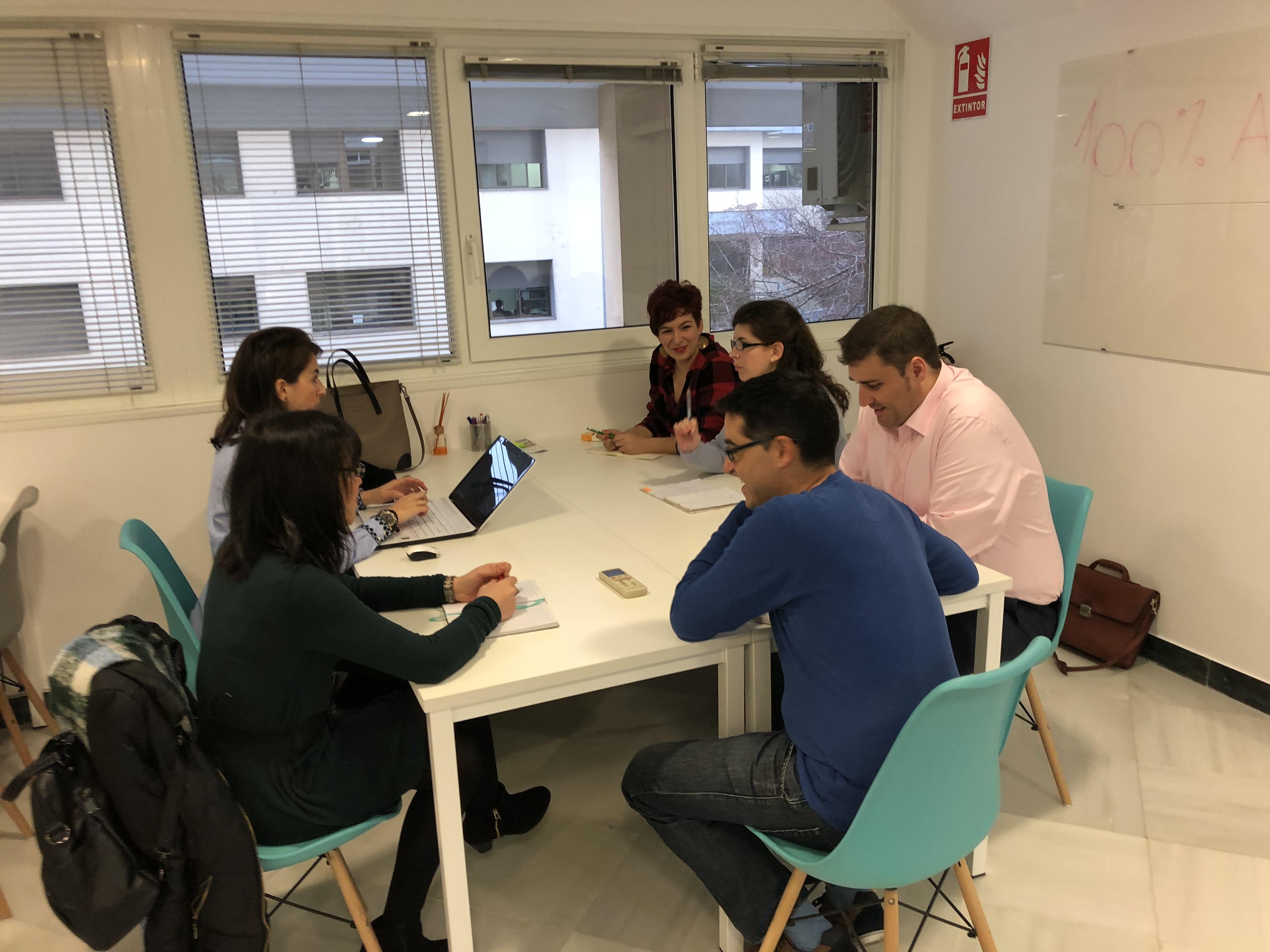 Reunión del Grupo de Trabajo en RSE de AJE Extremadura