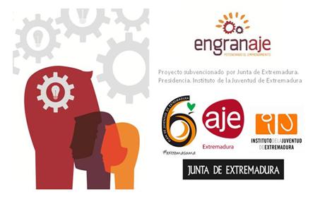 """Proyecto ENGRANAJE – """"potenciando el emprendimiento"""" – Aje Extremadura"""