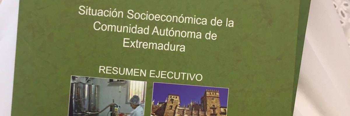 AJE Extremadura en la Presentación de la Memoria Anual 2017 de CES