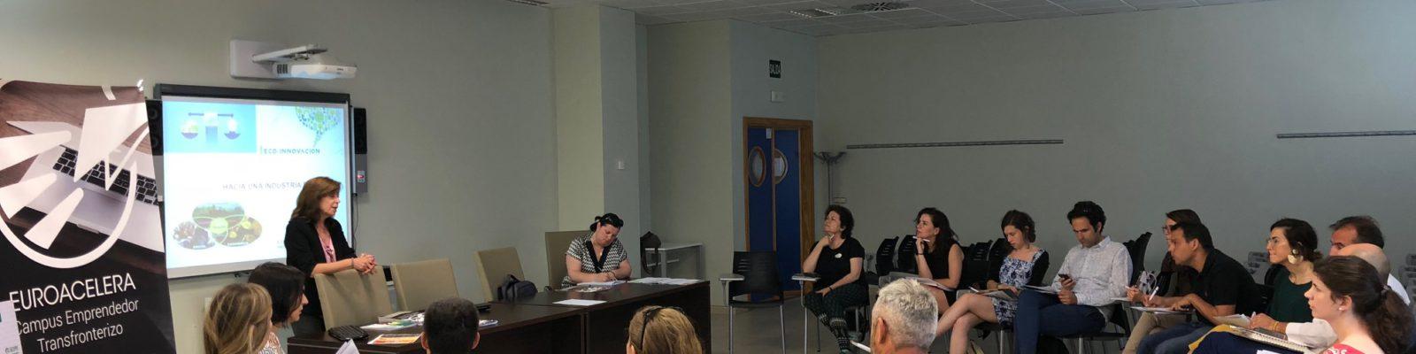 AJE Extremadura en la Mesa de Trabajo ECO de EUROACELERA