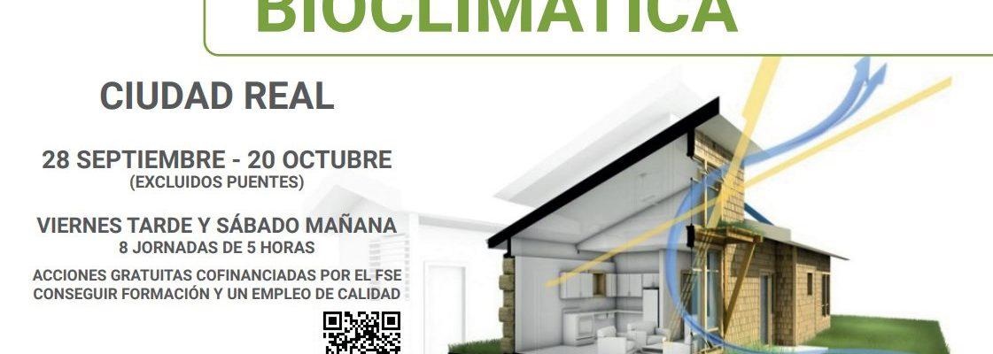 Curso de Arquitectura Bioclimática en Ciudad Real – Proyecto GreenUp