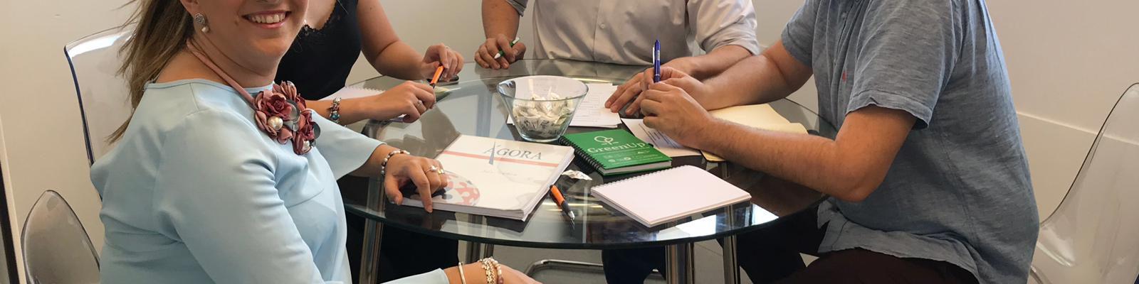 Reunión de Coordinación del proyecto GreenUp