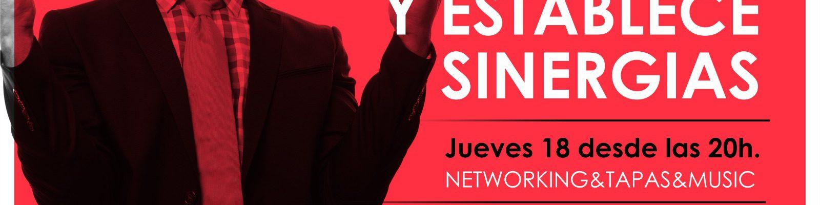 Jornada de Networking & Tapas & Music – Jueves 18 a las 20h.