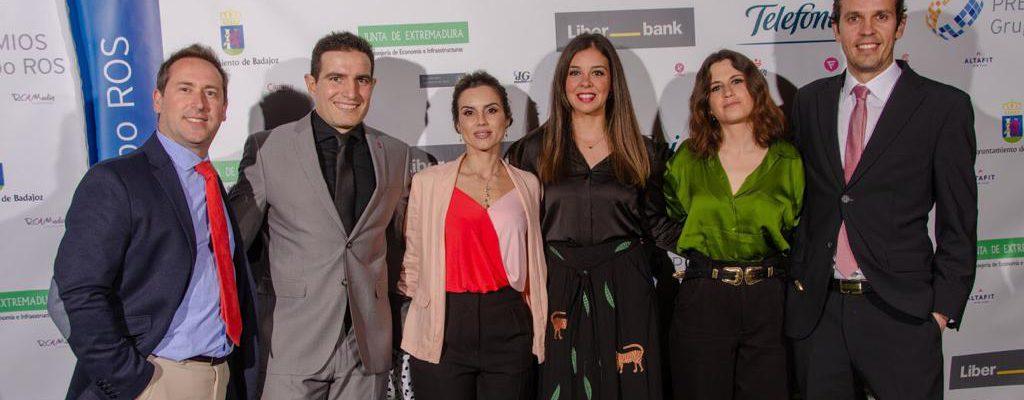 AJE Extremadura en la XII Edición de los Premios ROS
